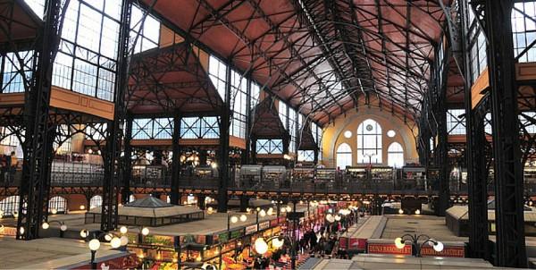 grand marché couvert de budapest